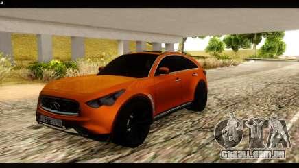 Infiniti FX37 para GTA San Andreas