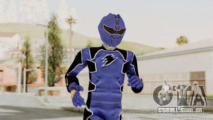 Power Rangers Jungle Fury - Blue para GTA San Andreas