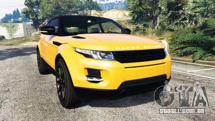 Range Rover Evoque para GTA 5