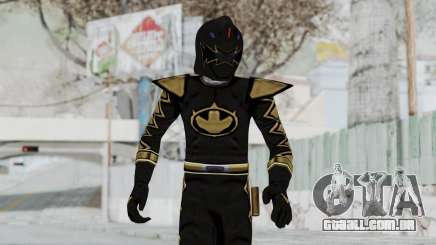 Power Rangers Dino Thunder - Black para GTA San Andreas