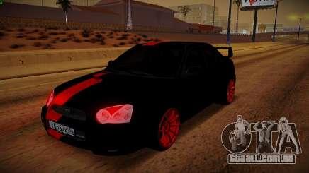 Subaru Impreza WRX STi Besta Negra para GTA San Andreas