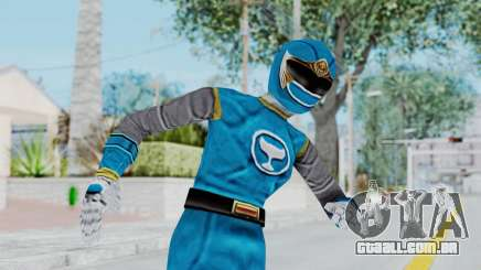 Power Rangers Ninja Storm - Blue para GTA San Andreas