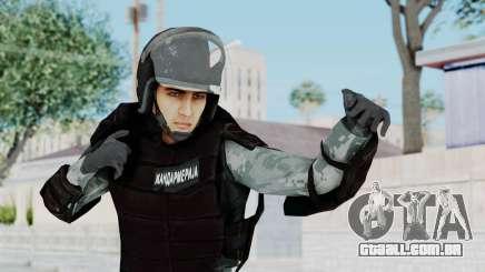 Gendarmerie, Que A Riot Pele para GTA San Andreas