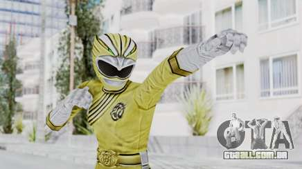 Power Rangers Wild Force - Yellow para GTA San Andreas