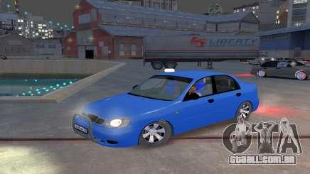 Daewoo Lanos Taxi para GTA 4