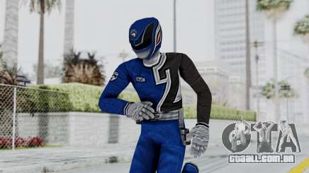 Power Rangers S.P.D - Blue para GTA San Andreas