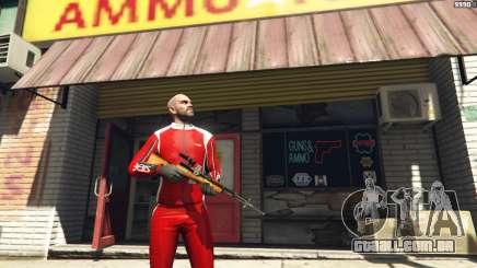 Auto-carregamento de carabina Simonov para GTA 5