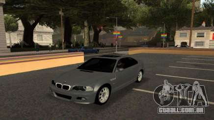BMW M3 E46 Tunable para GTA San Andreas