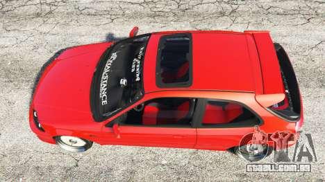 GTA 5 Honda Civic voltar vista
