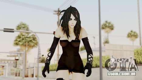 Badgirl Black Jumper para GTA San Andreas