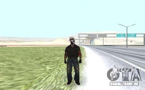 Novo guarda de segurança para GTA San Andreas