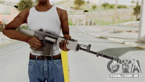 IOFB INSAS Grey para GTA San Andreas terceira tela