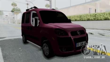 Fiat Doblo para GTA San Andreas vista direita