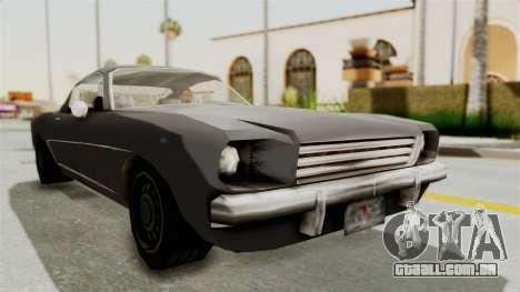 Dominator Classic para GTA San Andreas vista direita