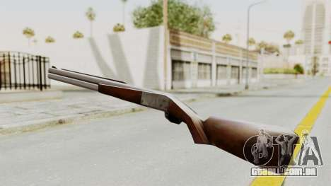 Liberty City Stories Shotgun para GTA San Andreas segunda tela