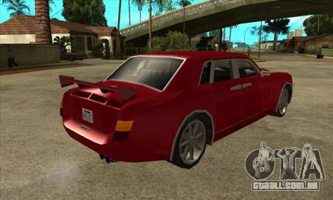 Rolls Royce Phantom para GTA San Andreas vista direita