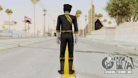 Power Rangers Wild Force - Black para GTA San Andreas terceira tela