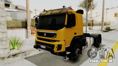 Volvo FMX Euro 5 4x2 para GTA San Andreas vista direita