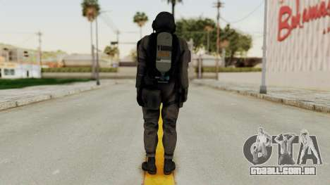 MGSV Phantom Pain Cipher XOF Cyprus para GTA San Andreas terceira tela