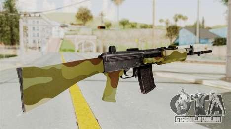 IOFB INSAS Camo v1 para GTA San Andreas segunda tela