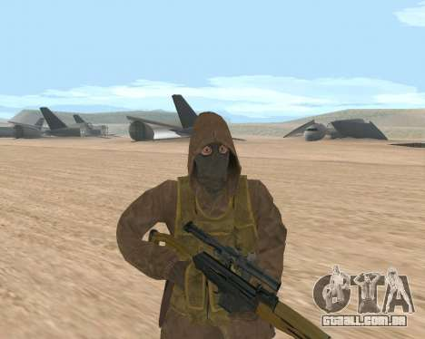 Soviet Sniper para GTA San Andreas terceira tela