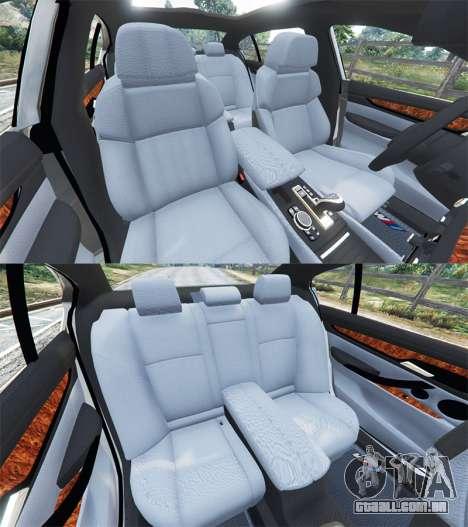 GTA 5 BMW 750Li xDrive (G12) 2016 vista lateral direita
