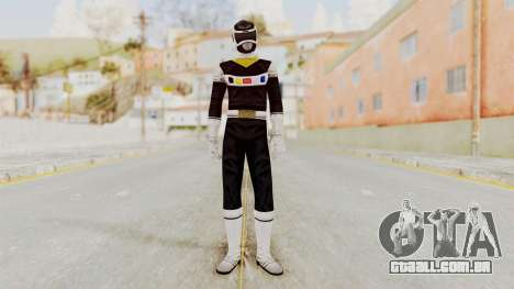 Power Rangers In Space - Black para GTA San Andreas segunda tela