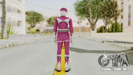 Mighty Morphin Power Rangers - Pink para GTA San Andreas terceira tela