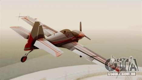 Zlin Z-50 LS Classic para GTA San Andreas vista direita