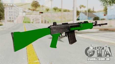 IOFB INSAS Dark Green para GTA San Andreas segunda tela