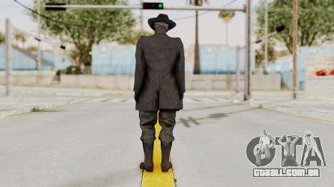 MGSV Phantom Pain SKULLFACE para GTA San Andreas terceira tela