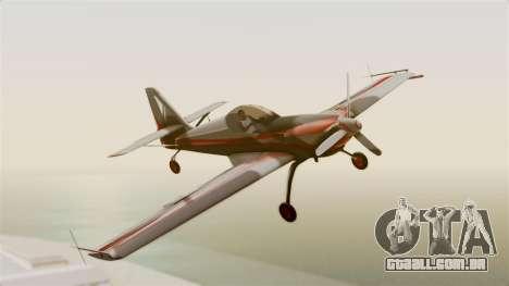 Zlin Z-50 LS Classic para GTA San Andreas traseira esquerda vista