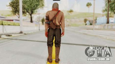 MGSV Phantom Pain Ocelot Mother Base para GTA San Andreas terceira tela