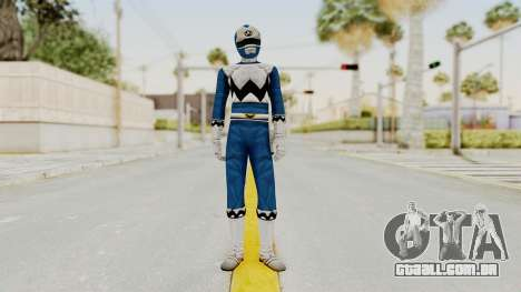 Power Rangers Lost Galaxy - Blue para GTA San Andreas segunda tela