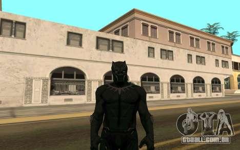 Pantera negra confronto para GTA San Andreas