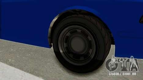 GTA 5 Vapid Stanier II Police Cruiser 2 para GTA San Andreas vista traseira
