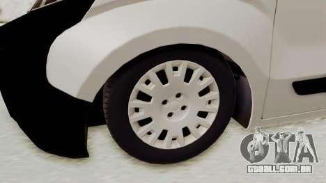 Fiat Fiorino 2014 para GTA San Andreas vista traseira