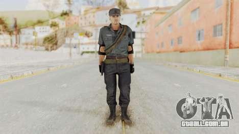 MGSV Phantom Pain Zero Risk Security LMG v2 para GTA San Andreas segunda tela