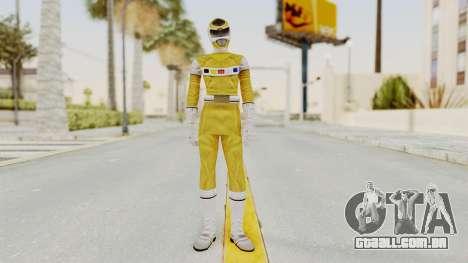 Power Rangers In Space - Yellow para GTA San Andreas segunda tela