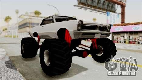 Pontiac GTO Tempest Lemans 1965 Monster Truck para GTA San Andreas