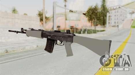 IOFB INSAS Grey para GTA San Andreas segunda tela