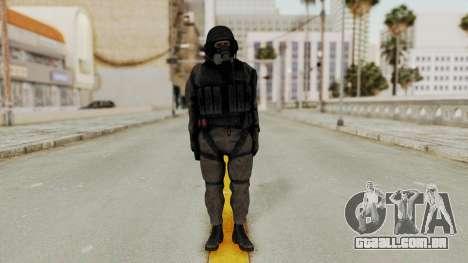 MGSV Phantom Pain Cipher XOF Cyprus para GTA San Andreas segunda tela