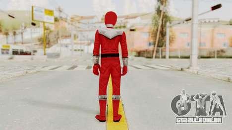 Power Rangers Time Force - Red para GTA San Andreas terceira tela