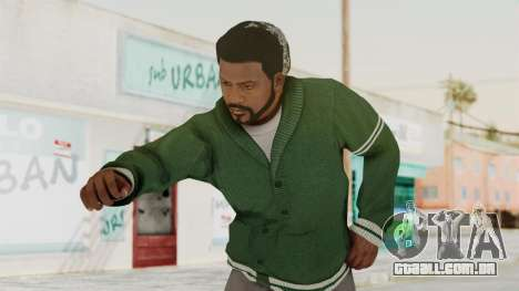 GTA 5 Franklin v2 para GTA San Andreas