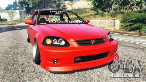 Honda Civic para GTA 5