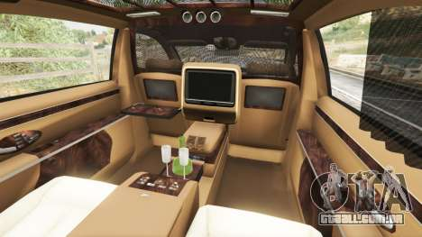 GTA 5 Maybach 62 S volante