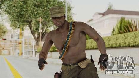 MGSV Phantom Pain Rogue Coyote Soldier Naked v2 para GTA San Andreas