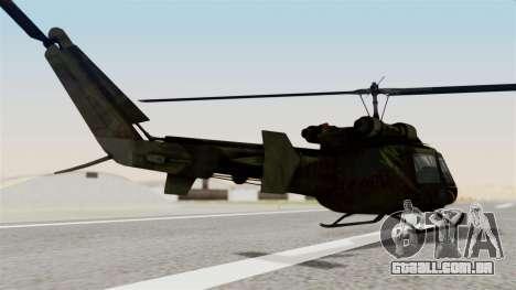 Castro V Attack Copter from Mercenaries 2 para GTA San Andreas esquerda vista