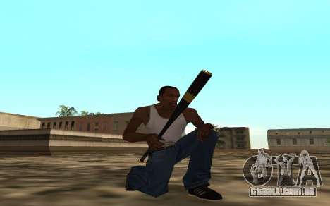 Golden weapon pack para GTA San Andreas segunda tela