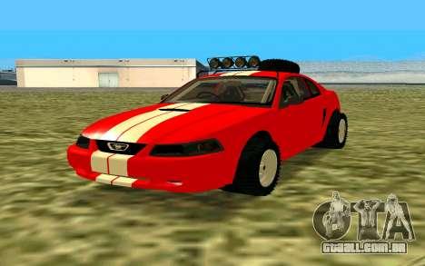 Ford Mustang 1999 para GTA San Andreas